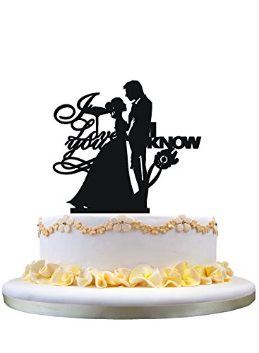 I-Love-You-I-Know-wedding-Cake-TopperBride-Groom-wedding-party-decoration
