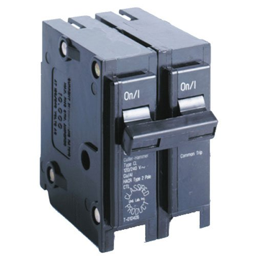 Eaton Corporation CL250CS Double Pole Ul Classified Replacement Breaker, 240V, 50-Amp