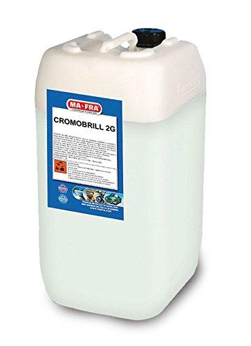 Ma-Fra Detergente per Macchie di ossidazione da superfici Metalliche 6 kg CROMOBRILL MA FRA