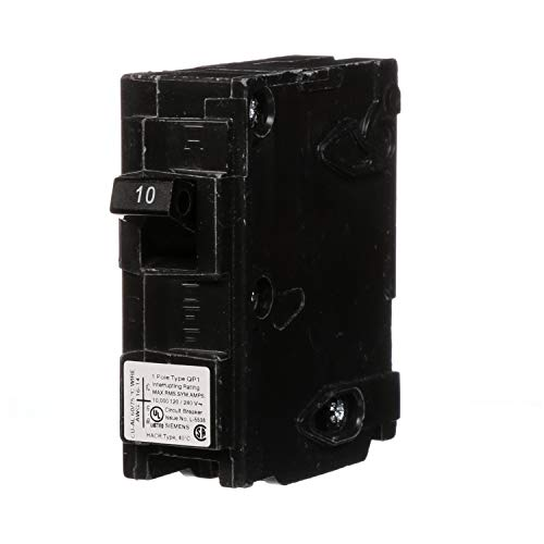 Q110 10-Amp Single Pole Type QP Circuit Breaker (Type Q Circuit Breaker)