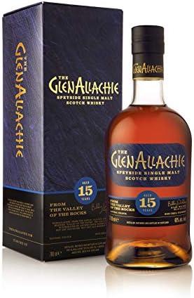 THE GLENALLACHIE 15YO Single Malt Whisky 70CL 46% - 700 ml