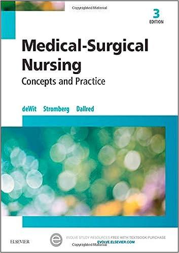 Medical Surgical Nursing Concepts Practice 9780323243780