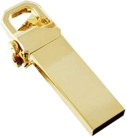 Size : 64G Computers Accessories USB 2.0 Flash Drive 4G//8G//16GB//32G//64G//128G Reader Read Speed is 6-50MB // S Write Speed is 4-20MB // S Metal Gold 10-11