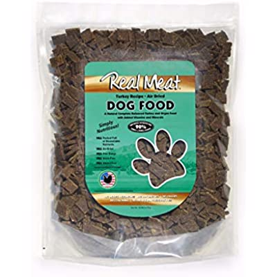 Real Meat Air-Dried Dog Food, Turkey