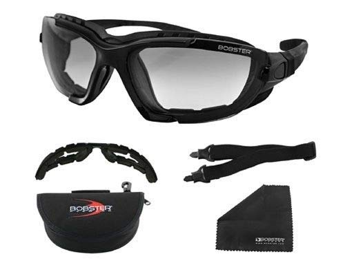 New Bobster Renegade Convertible Motorcycle Goggles With Photochromatic ()