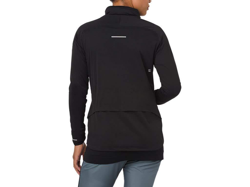 ASICS 2012A018 Women's System Jacket, Performance Black, Large by ASICS (Image #2)