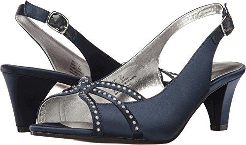 David Tate Women's Regal Navy Satin Sandal from David Tate