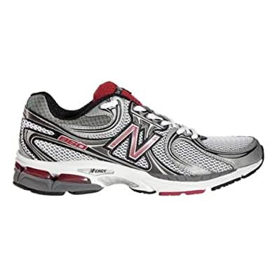 Mens New Balance 860, Color:Red/Black, 10 EEEE