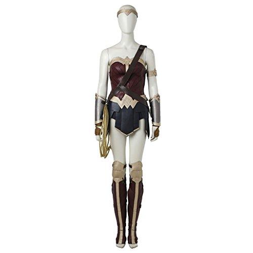 CosplayDiy Women's Costume Dress for Wonder Woman Cosplay S (Hot Cosplay Women)