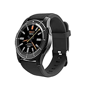 Revwtommy Smart Watch Intelligent Relojes de Bluetooth Pulsera Pulsómetros, Cronómetro, GPS para Running,