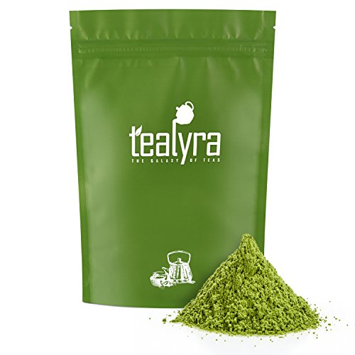 Tealyra - 4oz (112g) - Pure Japanese Matcha Green Tea Powder - Premium Grade - Organic - Izu peninsula, Tokyo - Best Healthy Drink - Hight Antioxidants - Energy Boost by Tealyra