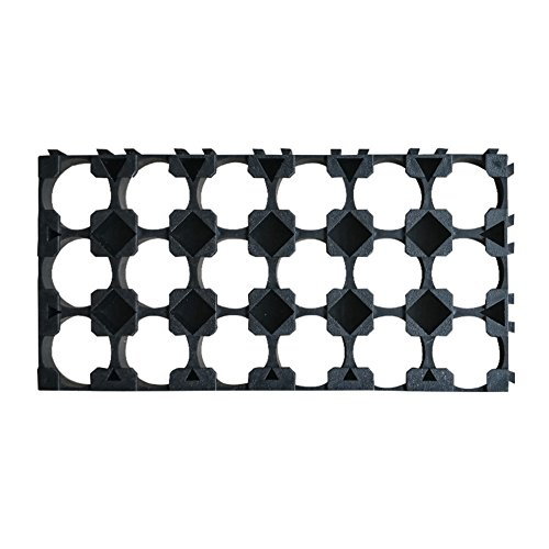 Lznlink 10 Pcs 18650 Li-ion Battery Holder 3x6 Cell Spacer Bracket Radiating Shell Rack Cylindrical Batteries Fixture