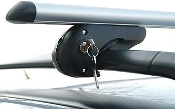 für Nissan Qashqai Typ J11 II NEU kpl. Menabo Sherman Aluminium Dachträger