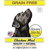 Dave's Pet Food Grain Free Chicken Meal Dog Food, 4 lb