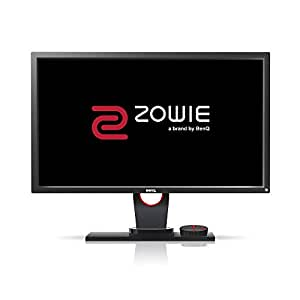 BenQ XL2430 -B ZOWIE 24 inch 144Hz eSports Gaming Monitor, 1080p, 1ms Response Time, Black eQualizer, Color Vibrance, S-Switch, Height Adjustable (XL2430)
