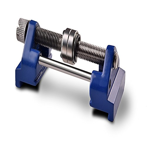 """Honing Guide Aliminium Alloy Fixed Angle Side Clamping with Roller Ring Clamping Width Range 1.42"""" - 3.31"""" for Chisel Planer Blade Graver Flat Chisel Spade Edge Sharpening (Double Bearing Style)"""