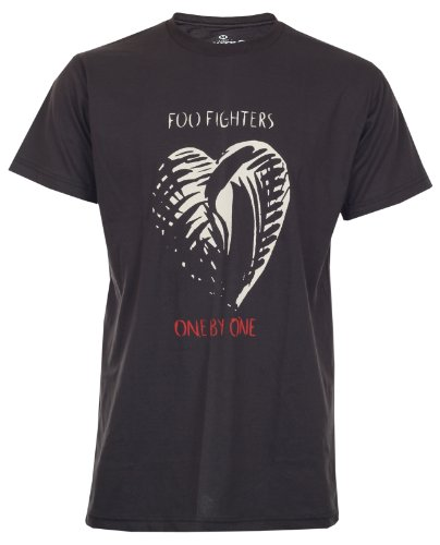 Lectro Foo Fighters T-Shirt One By One New Black Tee Size M