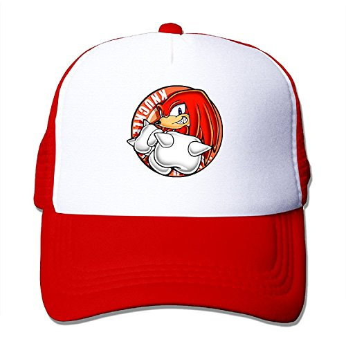 LeaDear Unisex Fashion Adjustable Knuckles The Echidna Snapback Cap Trucker Hat / Headwear
