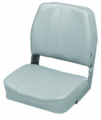 Wise 8WD334-717 Standard Low Back Boat Seat (Grey)