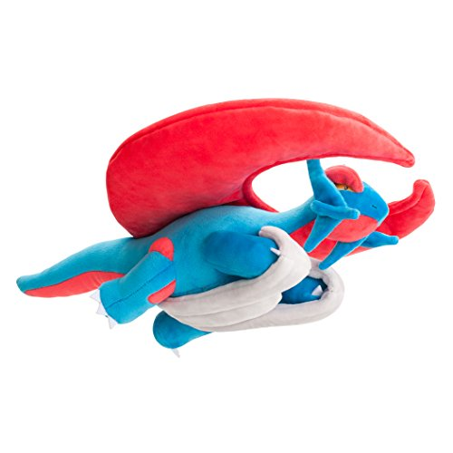 "Pokemon Center Japan 16"" Mega Salamence Stuffed Plush Doll"