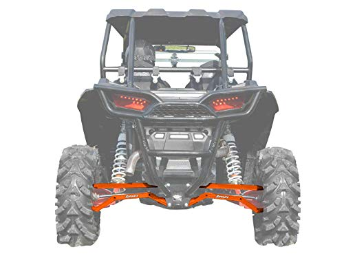 (SuperATV Heavy Duty High Clearance Boxed Rear Radius Arms/Rods for Polaris RZR XP 1000 / XP 4 1000 (2014+) -)