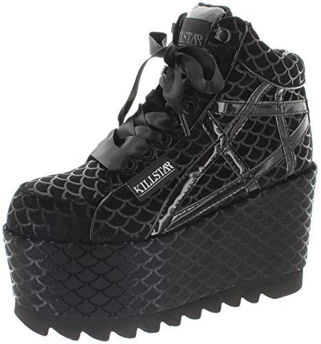 Plateau Sneaker Trainers Schwarz Killstar Platform Mermad qTSZxSnFA