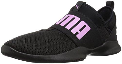 PUMA Unisex Dare Sneaker, Black-Orchid, 5.5 M US Big Kid