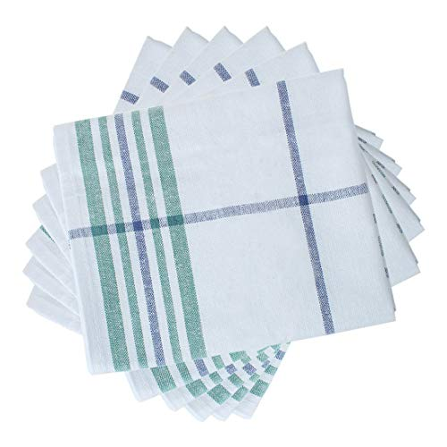 "uxcell 6 Pack Cotton Dish Towels 24"" x 16"", Machine Washable"