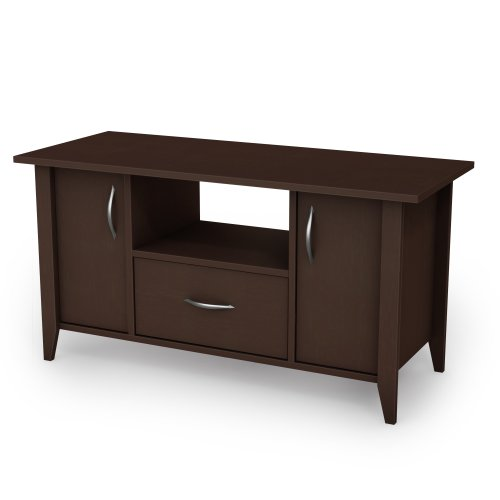 South Shore Traditional Hutch - South Shore, Classic View Collection, TV Stand, Chocolate