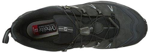 Salomon L36902400, Zapatillas De Senderismo para Hombre Gris (Asphalt /     Black /     Pewter)