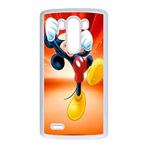 LG G3 Cell Phone Case White Disney Mickey Mouse Minnie Mouse AFT834945