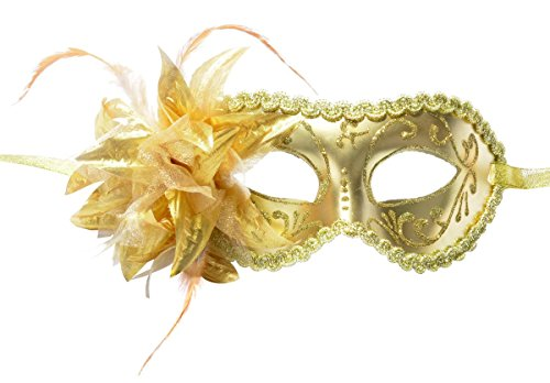 DIY Handmade Masquerade Mask Evening Party Prom Mask with