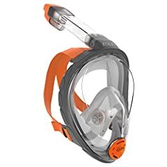Goodbye jaw discomfort, goodbye difficult breathing and goodbye water in your snorkel. For good.With Aria you breathe through your nose, while the dry top prevents water from getting in the snorkel.  Aria has the largest field of vision of an...