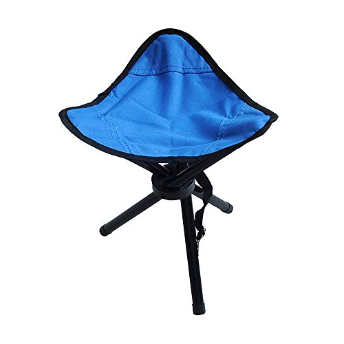 Stool, Tri-Leg 3-Legged Stool, Multipurpose Seat for Camping, Backpacking, Gardening, Fishing, Hiking, Mountaineering-Adults and Kids Outdoor & Indoor Portable Canvas Stool (Outdoor Three Seat Chair)