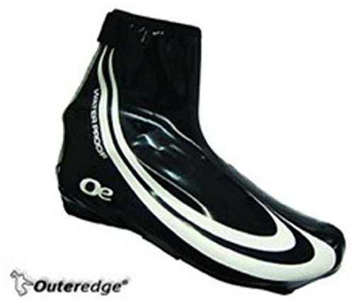 Medium Shoe Over Outeredge Schwarz Lycra Waterproof wUpWqOZ