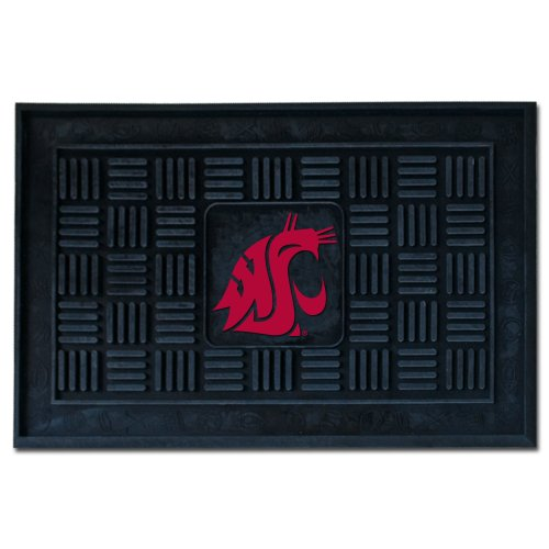 Fanmats NCAA Washington State University Cougars Vinyl Door Mat State University Door