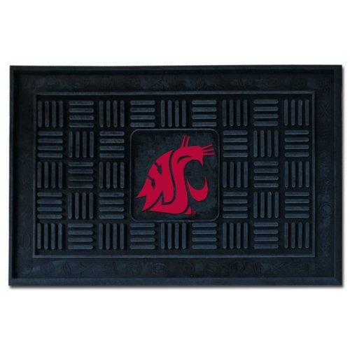 Fanmats NCAA Washington State University Cougars Vinyl Door Mat (University State Door)