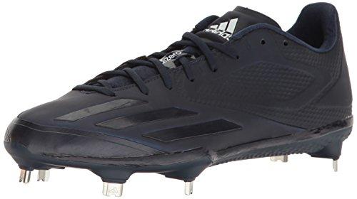 Adidas Performance Menns Adizero Brenner Tre Baseball Sko Kollegialt Navy / Kollegialt Navy / Hvit