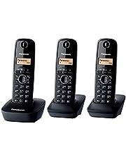 باناسونيك KX-TG1613 DECT سماعة ثلاثية لاسلكية للهاتف