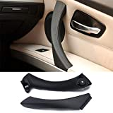Jaronx for BMW 3 Series E90/E91 Door Handle Replacement Kit,Outer Cover+Door Pull Handle Passenger Door Handle for BMW 316 318 320 323 325 328 330 335 (2004-2011)(Right Side,Pull Handle+Outer Cover) (Color: Right, Tamaño: Pull Handle+Outer Cover)
