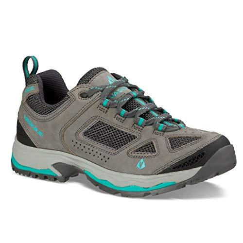 Vasque Women's 7197 Breeze III Low GTX Hiking Boots (Gargoyle/Columbia, 8.5 M US)