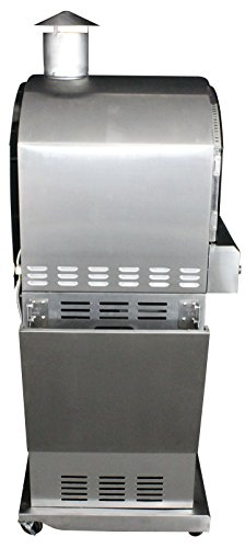 HomComfort HCP16SS Stainless Steel Gas Pizza Oven by HomComfort (Image #10)