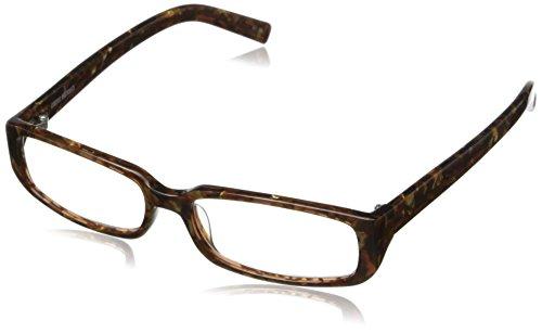 (Corinne McCormack Women's Sherry Rectangular Reading Glasses,Brown Marble,1)