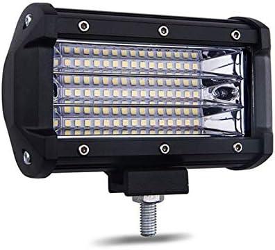WOVELOT 2Pcs LED Barre de Lumi/èRe de Travail 135W 5 pouces6000 K Projecteur pour Voiture 4X4 Lumi/èRe de Travail Offroad pour Bateau de Moto de Tracteur 12V Phare de Brouillard