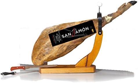 San Jamon Set Jamón Ibérico Bellota (8,5 - 9,5 Kg) con Jamonero