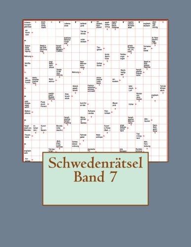 Schwedenratsel Band 7  [Schwedenratsel] (Tapa Blanda)