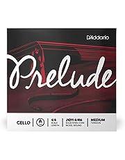 D'Addario Prelude Cello Single A String, 4/4 Scale, Medium Tension