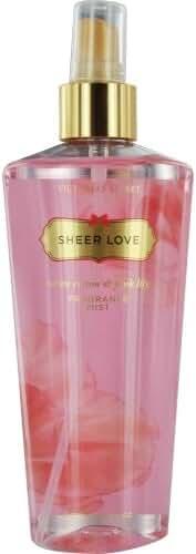 VICTORIA SECRET by Victoria's Secret SHEER LOVE BODY MIST 8.4 OZ (Package Of 3)