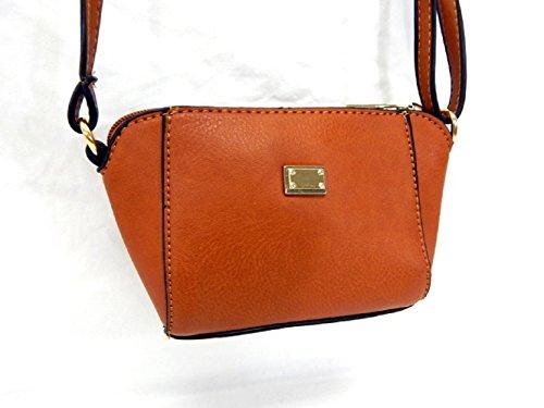 Tan Cross Handbag Women's Tote Bag Fashion Purse HS9492B Body Mini ZOqznxC7w