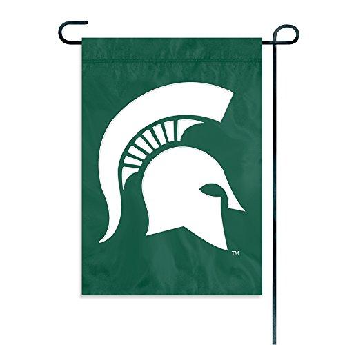 Party Animal NCAA Michigan State Spartans Garden Flag